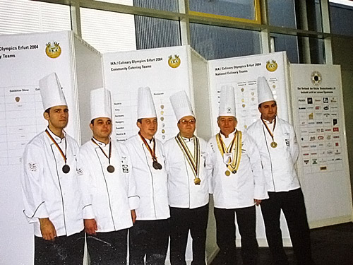 olimpiada internationala in arta culinara - erfurt 2004