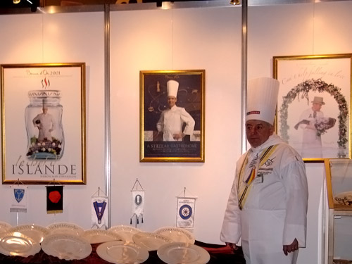 competitia culinara one world - islanda 2006